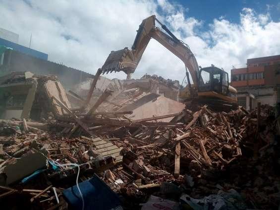 Derrocamientos, desbanques, desalojos, demoliciones 0979354030