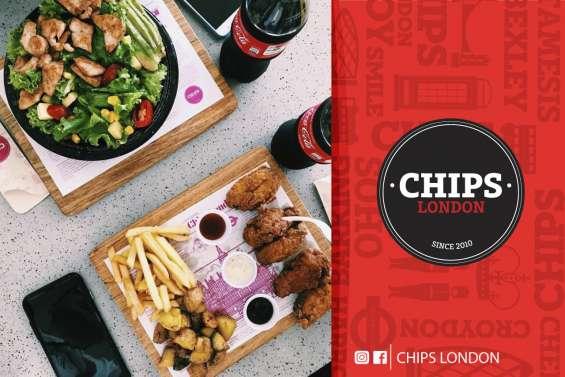 Chips london #tablitas comida loja restaurante