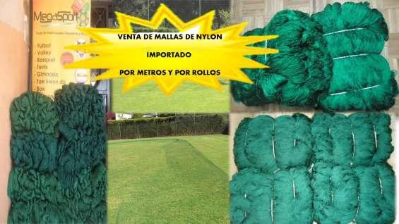 Fotos de Malla de alta resistencia color verde para áreas deportivas 2