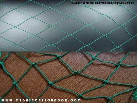 Fotos de Malla de alta resistencia color verde para áreas deportivas 3