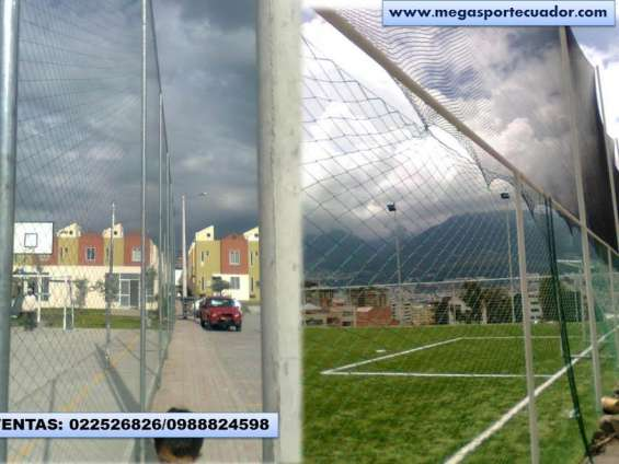 Mallas de áreas deportivas de cerramiento