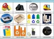 Fundas plásticas oxo biodegradables