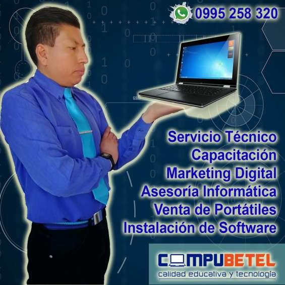 Compu betel: venta de computadoras para cybers, negocios de internet.