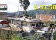 Se vende propiedad de 200 mts2 con casa construida en 49 mts2  y terreno disponible esquin