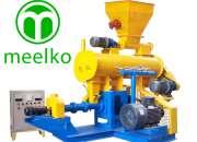 Producción de alimentos para animales con la máquina mkew70b