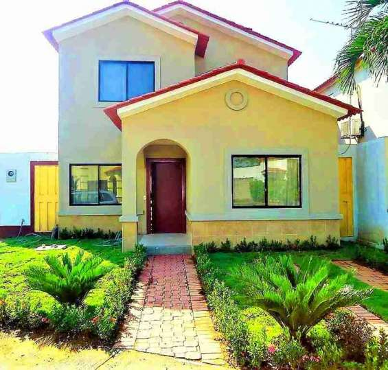 Rento casa amoblada ciudad celeste samborondon, guayaquil