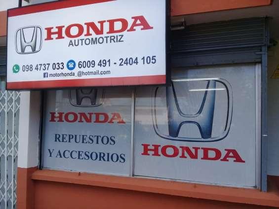 Honda guardachoques delanteros