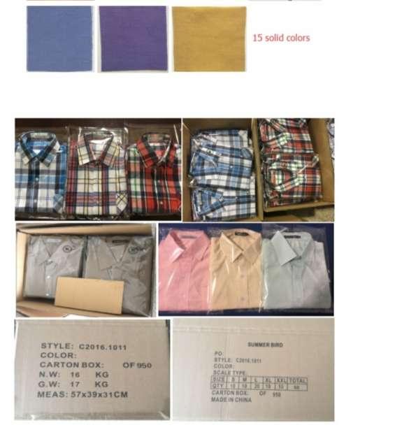 Vedemos camisas al mejor precio del mercado