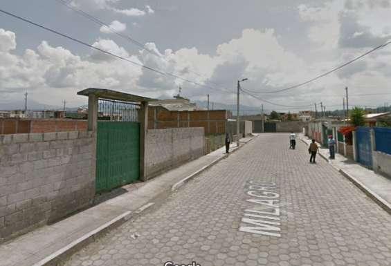 Terreno urbanizado 380m2 a 10 minutos de salle conocoto