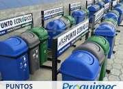 Venta de Estaciones para reciclaje en Guayaquil