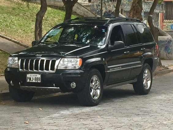 Vendo jeep cherokee limited overland