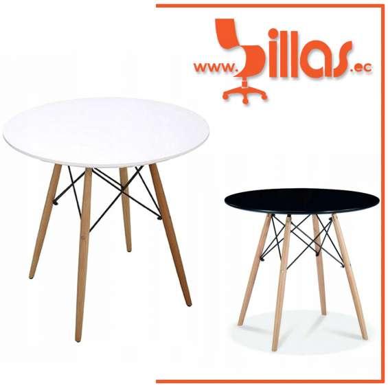 Mesa redonda minimalista