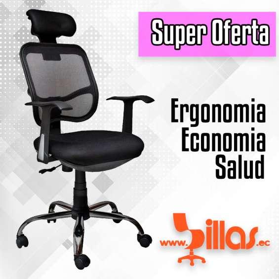 Silla ergonómica economica