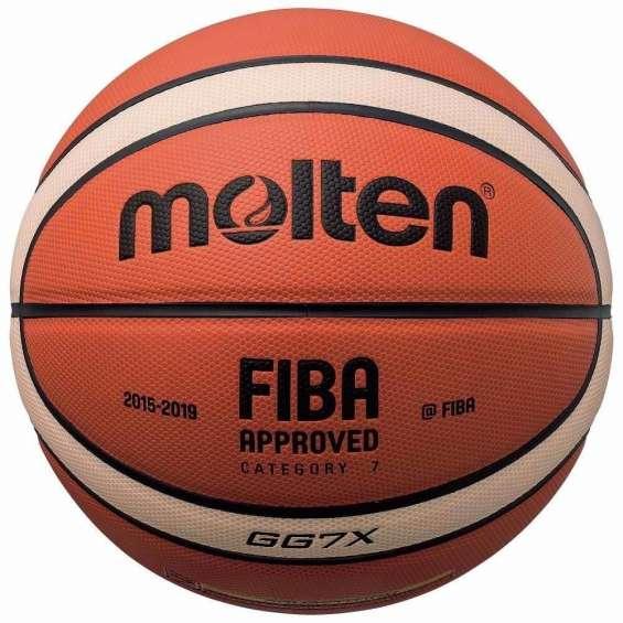 Balones molten originales de cuero basquet