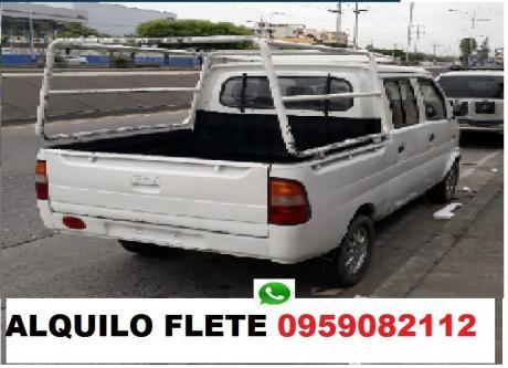 Camioneta flete pequeñas mudanzas solo guayaquil 0959082112