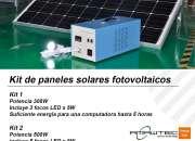 Kit de paneles solares (fotovoltaicos)