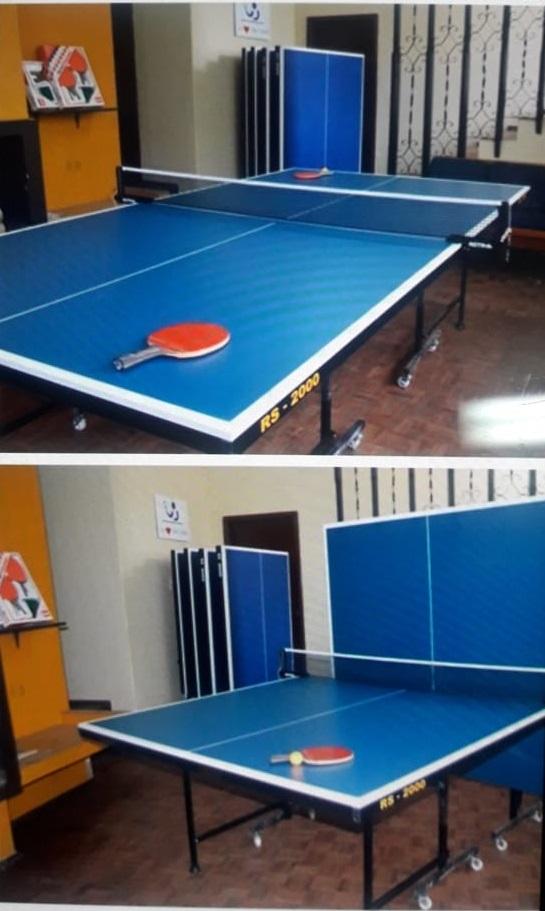 Mesa de ping pong entrenamiento y coordinación