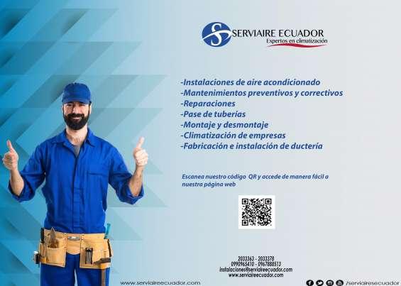 Serviaire ecuador-dando siempre los mejores servicios