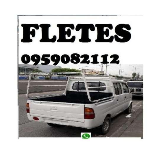 Camioneta flete solo guayaquil 0959082112