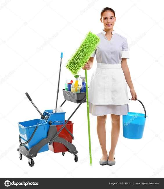 Se busca personal femenino para limpieza de casas, señora de limpieza