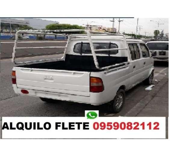 Ahora camioneta fletes pequeñas mudanzas solo guayaquil 0959082112
