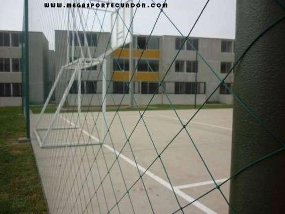 Mallas deportivas cerramiento e instalaciones