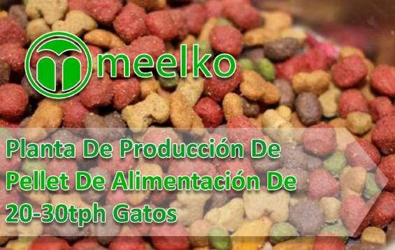 Planta de producción de pellet de alimentación de 20-30tph gatos meelko