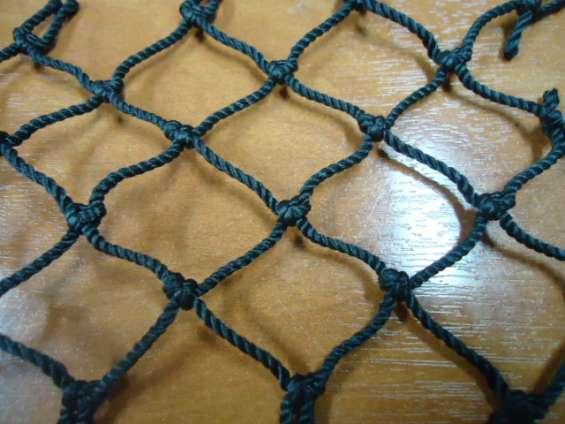 Mallas negras nylon para construcción