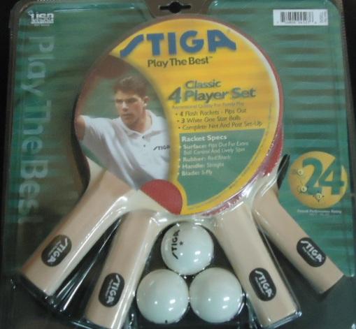 Set completo de raquetas marca stiga