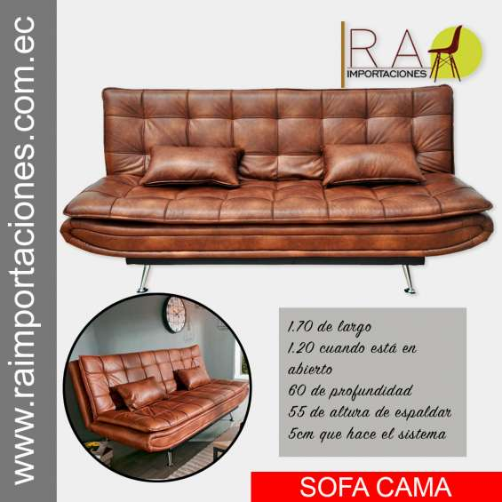 Sofa cama recinable