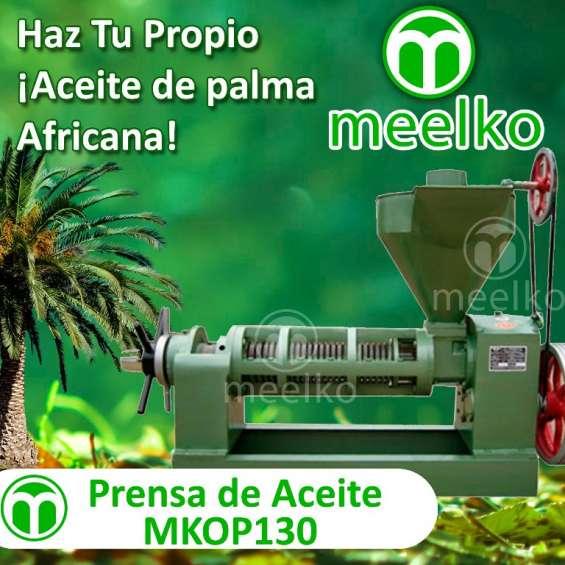 Prensa de aceite meelko mkop130