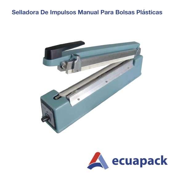 Selladora de impulso manual - plastica