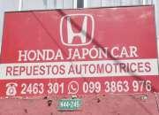 HONDA JAPÓN CAR LOS MEJORE REPUESTOS PARA SU AUTO