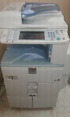 Copiadora / impresora ricoh aficio mp 3350, negociable