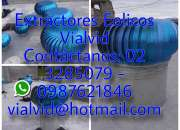 Extractores eolicos vialvid
