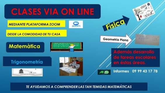 Matematica via on line