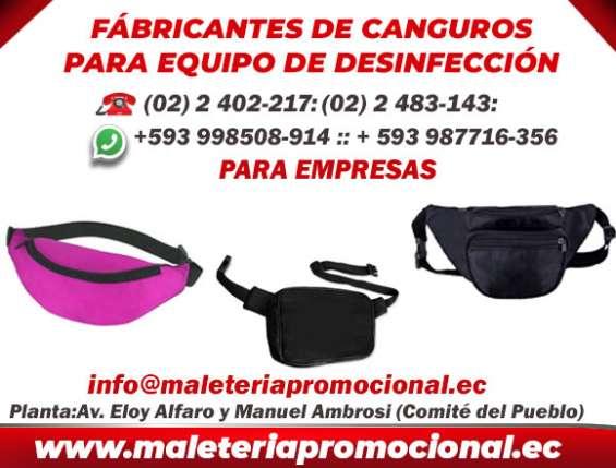 Canguros-para-equipo de desinfeccion fabricantes