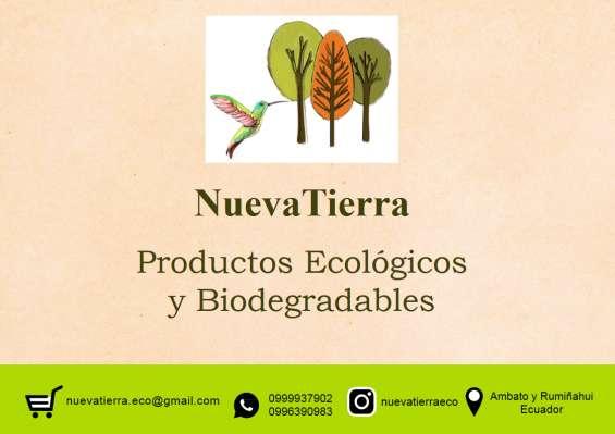 Productos biodegradables y ecológicos