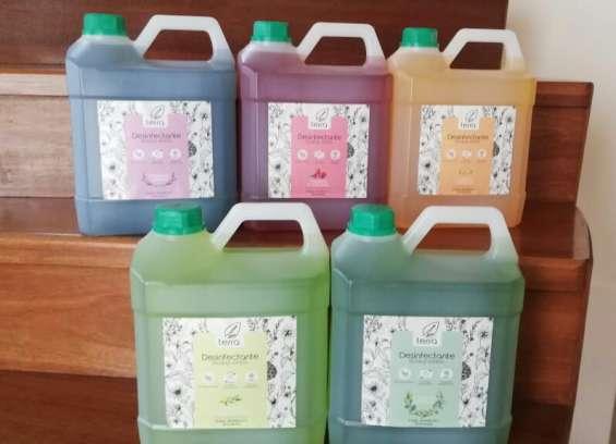 Desinfectante multiuso biodegradable