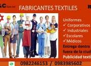 Fabeicantes textiles ropa de trabajo camisetas publicitarias