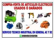 Compra-venta y reparacion de articulos electricos, motores, herramientas y de hogar (usado