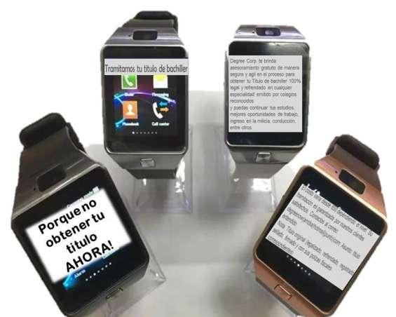 Smartwatch bachiller graduado