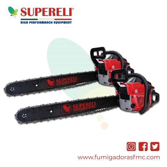 Motosierra supereli cs-5800